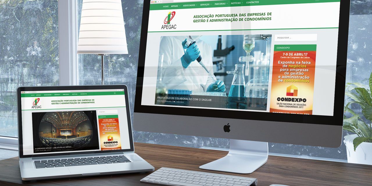 Novo Website da APEGAC
